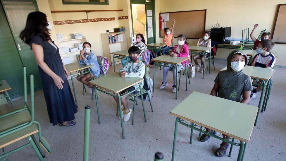 Vuelta al cole en el colegio de Barcelos
