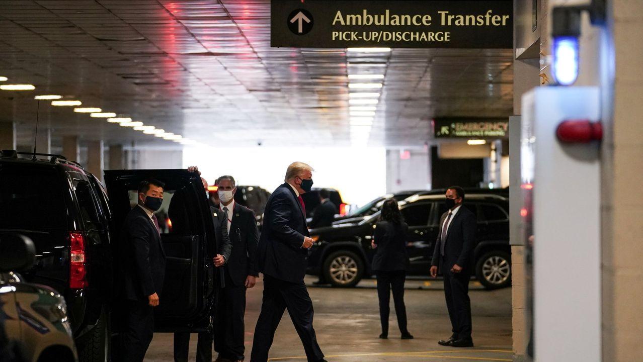 Donald Trump visitó el pasado viernes a su hermano en el hospital de Nueva York