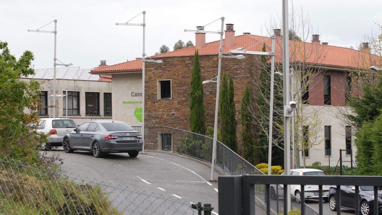 La residencia de DomusVi Cangas, en Aldán, registró 30 fallecimientos