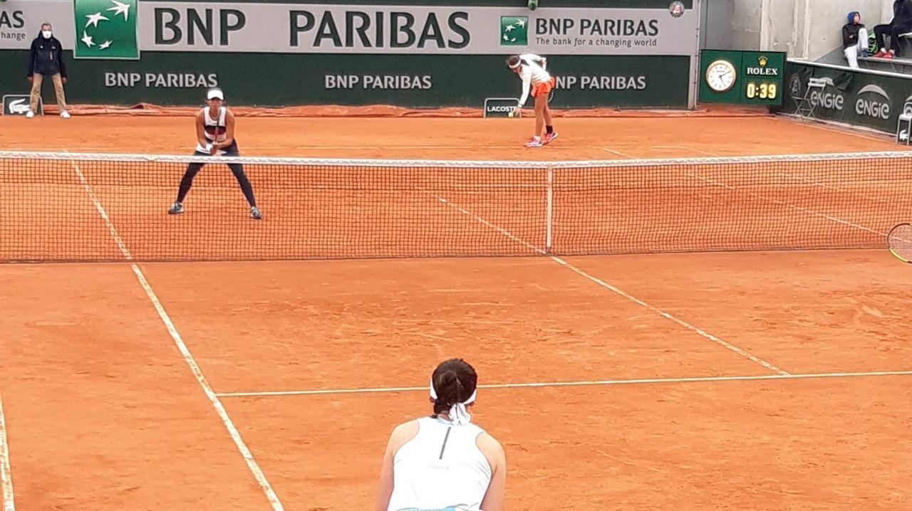 Vistas a las Cíes desde una mansión de piedra en primera línea.Pablo Carreño, en un golpe de su partido contra el alemán Daniel Altmeier en octavos de final de Roland Garros 2020