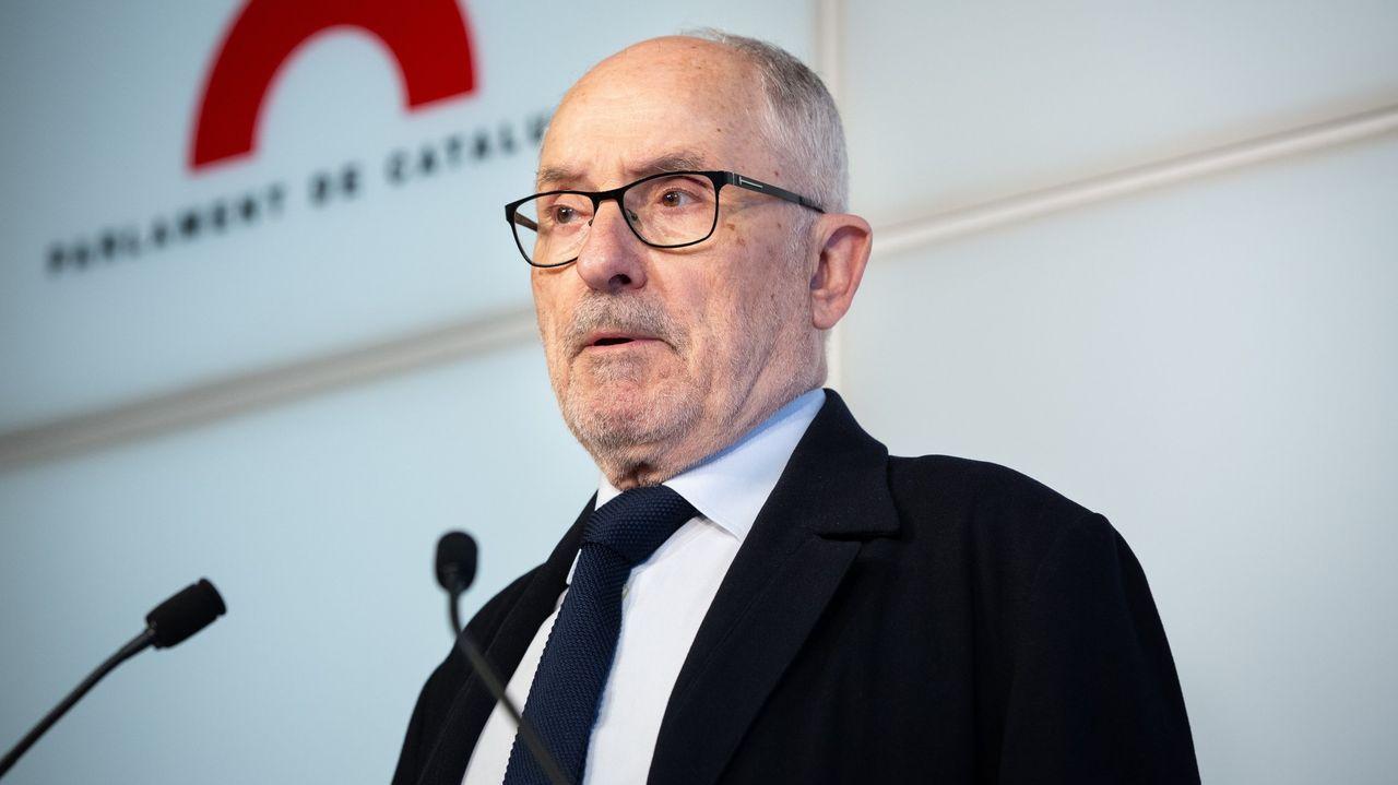 david villa.Rafael Ribó, Defensor del Pueblo catalán.
