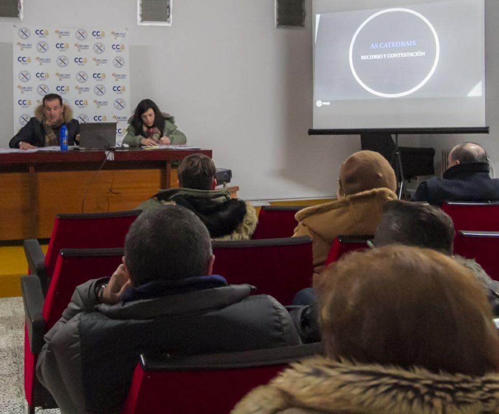 La asamblea general de Acisa Ribadeo del pasado lunes.