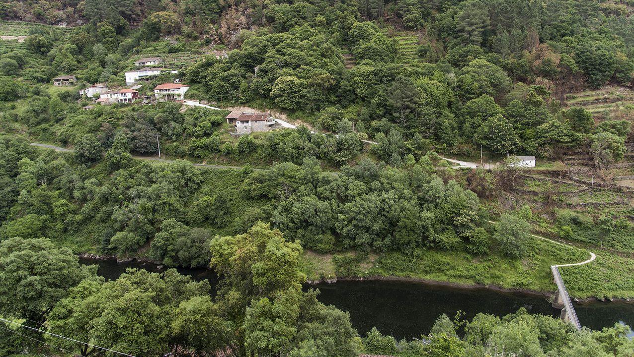 La aldea de A Barca se encuentra en el monte de Nogueira