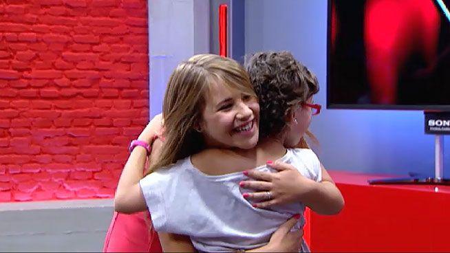 Así fue el paso de Iraila por «La Voz Kids».Sandro Rey (derecha) con sus compañeros de «Mira quién salta»