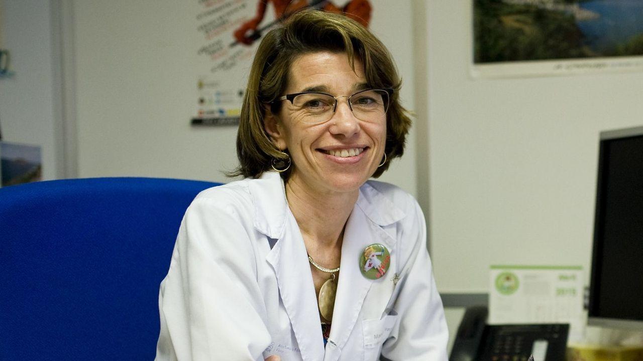 Marisa Fraga Sampedro, supervisora de Formación y voluntaria en el centro covid:  Hemos llorado con los afectados al teléfono