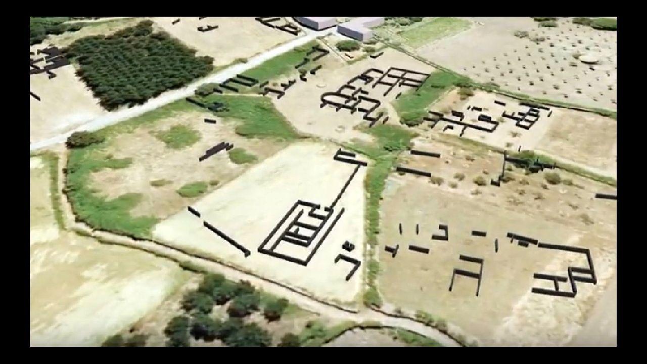 El georradar destapa milenios de historia en Proendos.Un recorrido por el Camino de Invierno en Belesar, entre O Saviñao y Chantada
