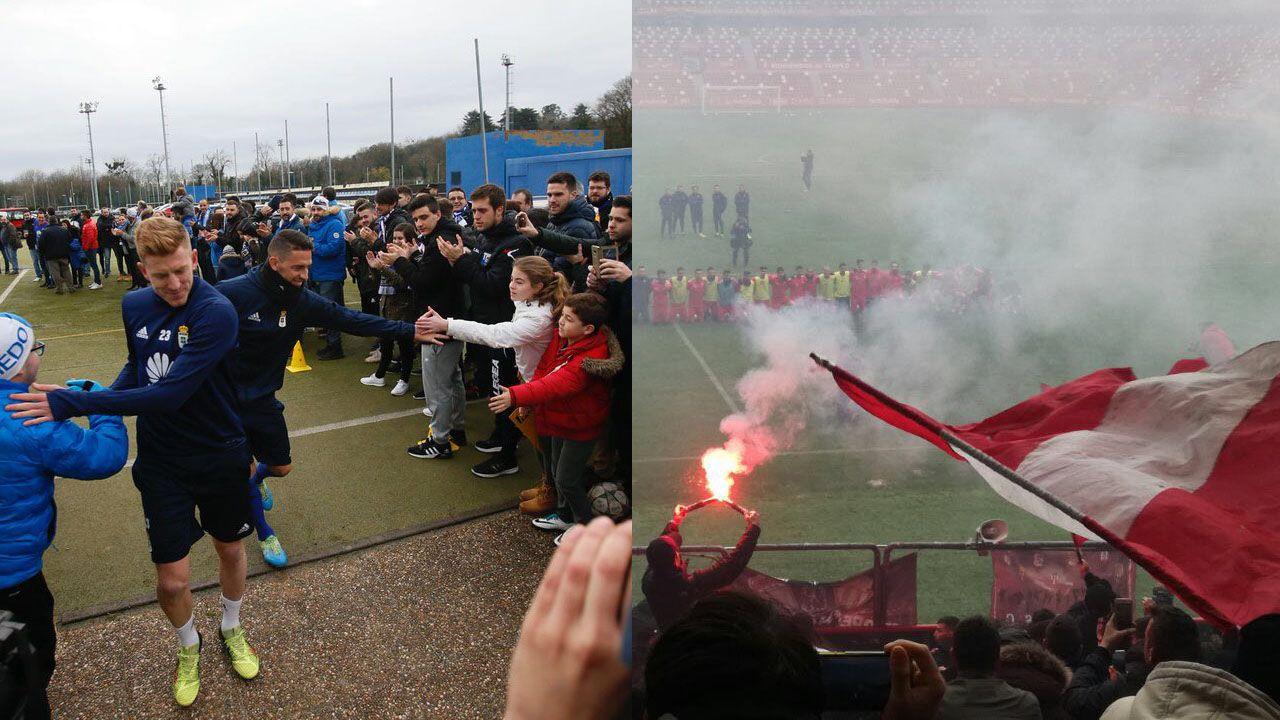 Anquela Almeria Real Oviedo Carlos Tartiere.El domingo 4 de febrero a las 18:00 se celebra el derbi Oviedo-Sporting