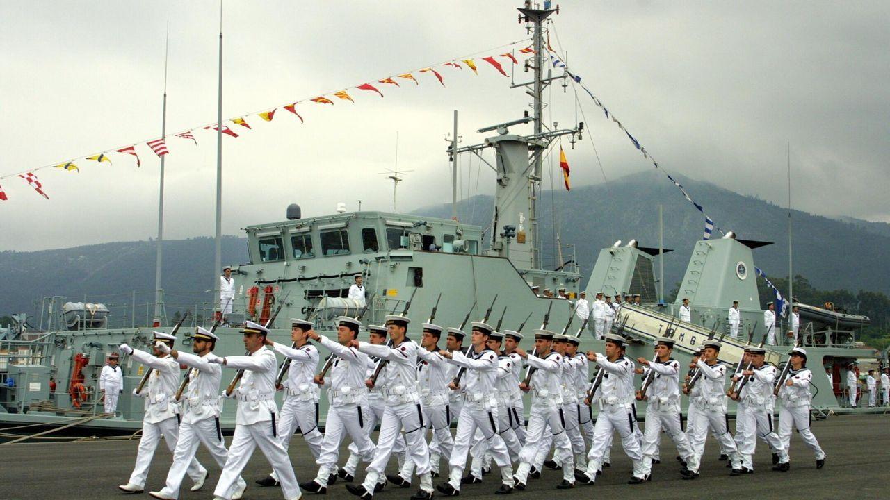El Ejército del Aire despliega sus alas en defensa de Santiago.Alcoa