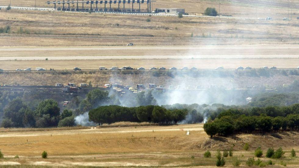Rajoy se entera del accidente de Germanwings en Vitoria.Accidente de avión de Spanair en el aeropuerto de Barajas