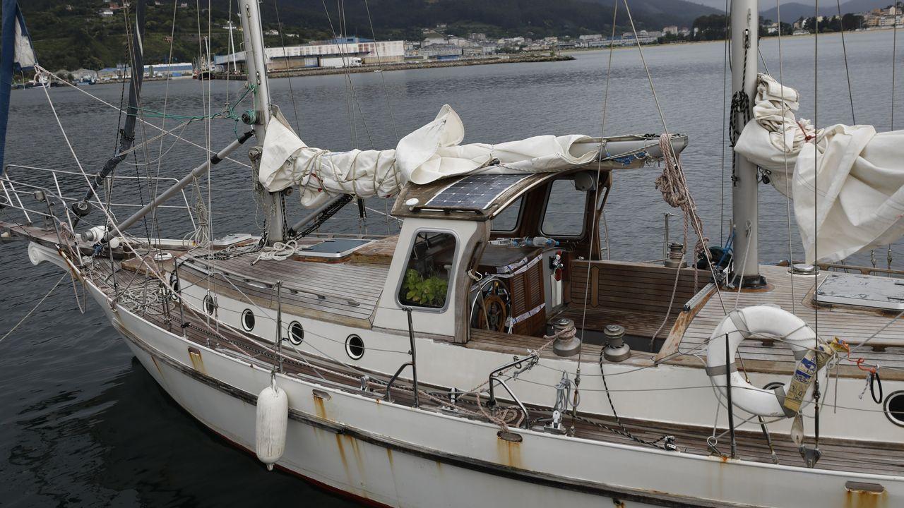 El Makai, en imagen en Celeiro, pasó una inspección en Muxía el 7 y encalló en O Vicedo el 10