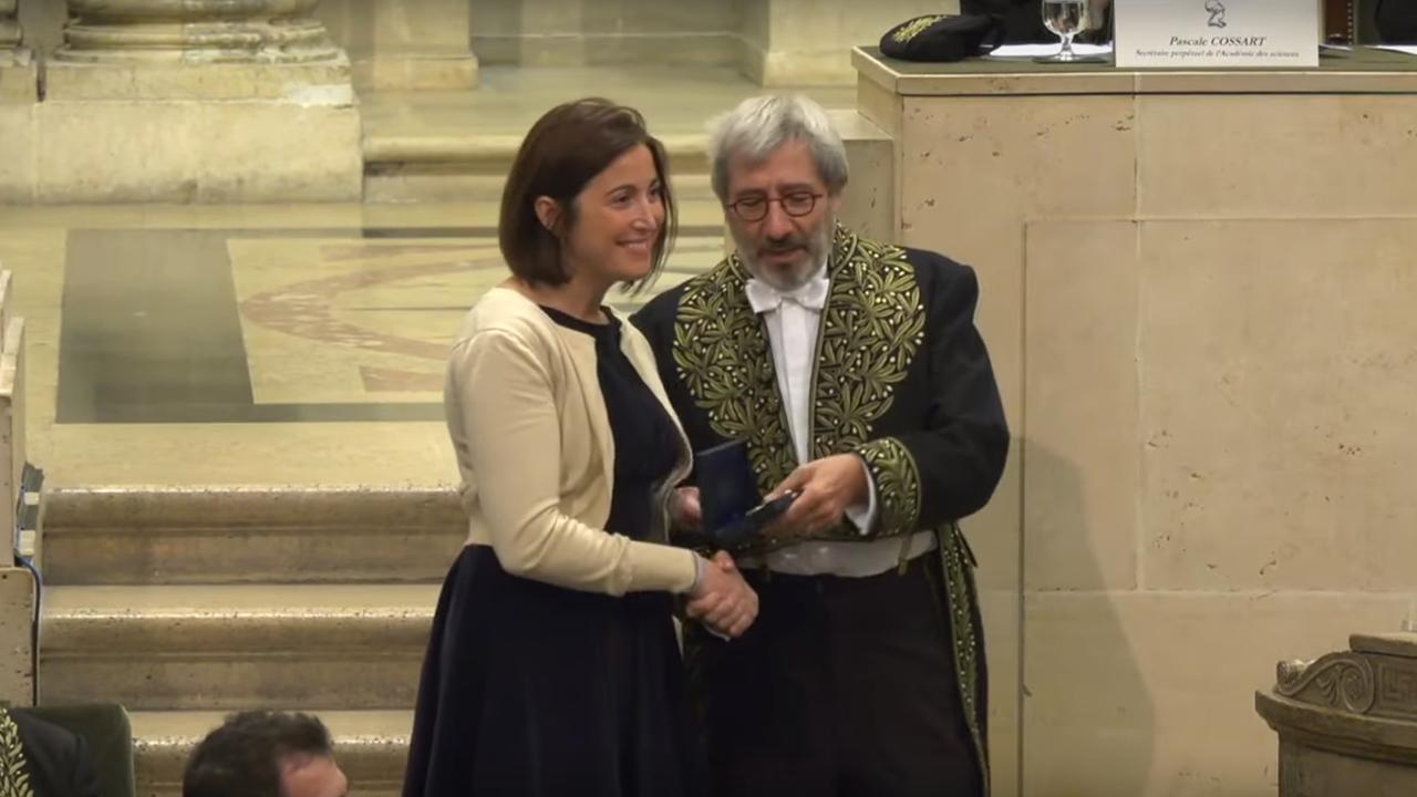 La criptanalista María Naya Plasencia recibe el premio Inria-Academie Des Sciences que otorga la Academia de las Ciencias en Francia