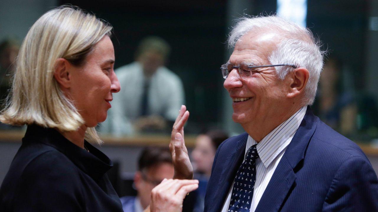 El Rey insta a los partidos a «encontrar una solución» para evitar repetir las elecciones.Josep Borrel está pendiente de relevar a  Federica Mogherini como jefa de la diplomacia europea