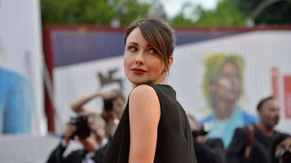 La actriz italiana Anita Caprioli