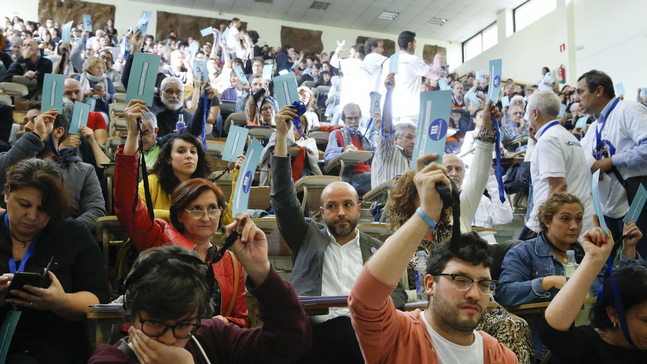 Foto del plenario de En Marea celebrado a finales de octubre
