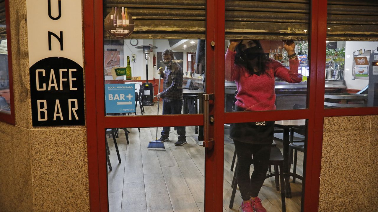 La hostelería en la ciudad cerró el pasado 7 de noviembre