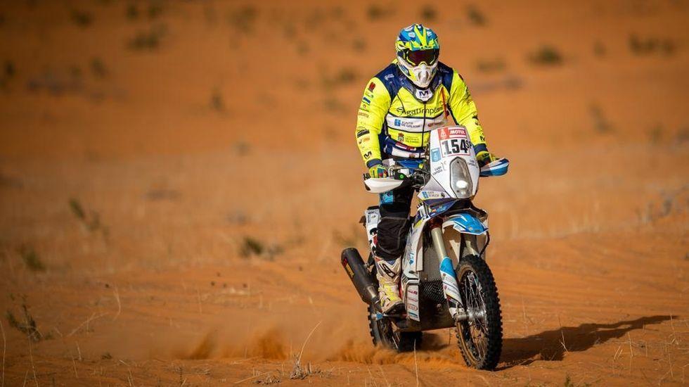 Así fue el Dakar 2020 a través del objetivo del poleso Charly López.Fernando Alonso, en el Dakar
