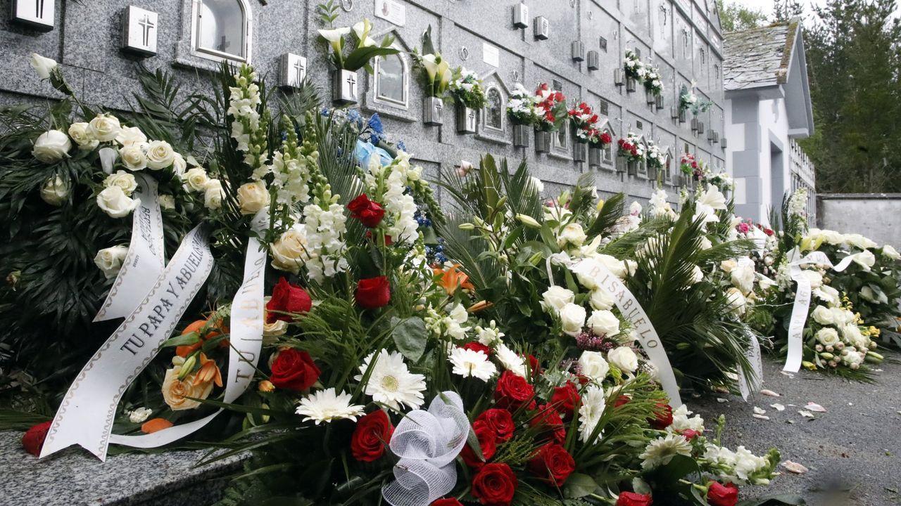 Centro penitenciario de Villabona.Cementerio de Roupar donde enterraron a la niña