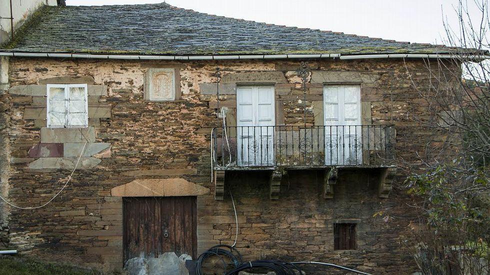 Fachada de la Casa de Fidalgo