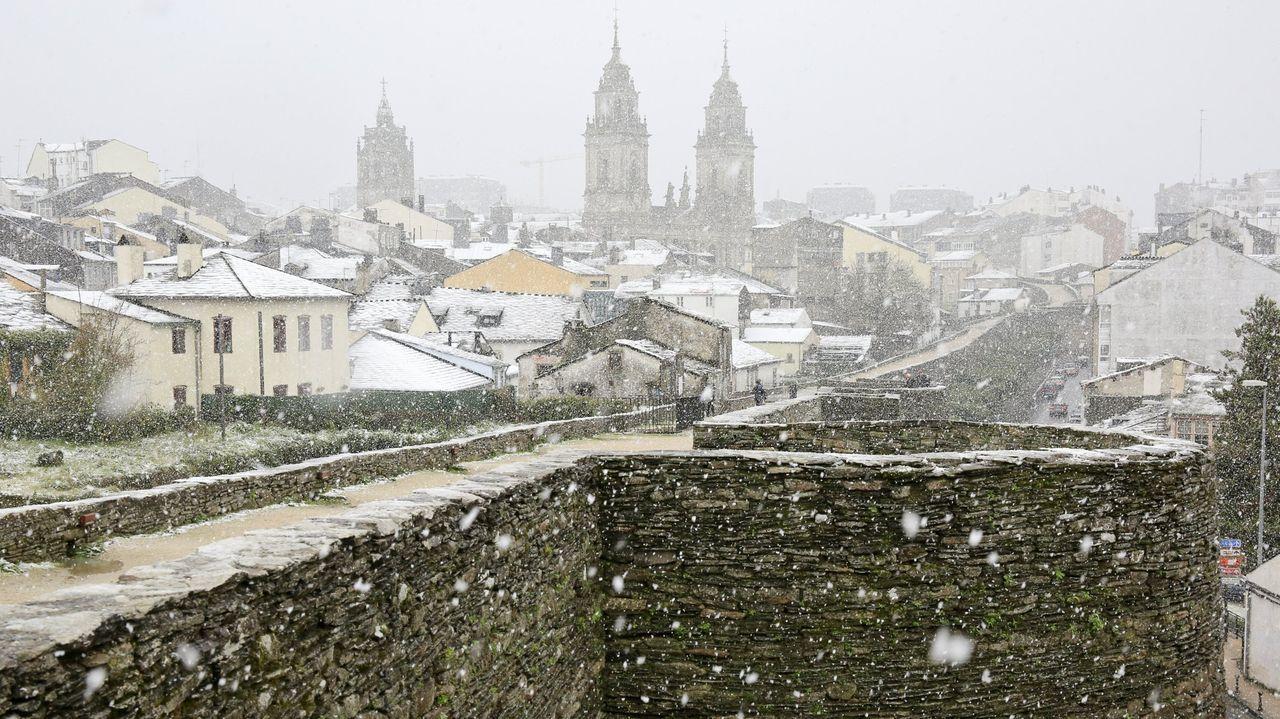 El casco histórico de Lugo será declarado zona de bajas emisiones