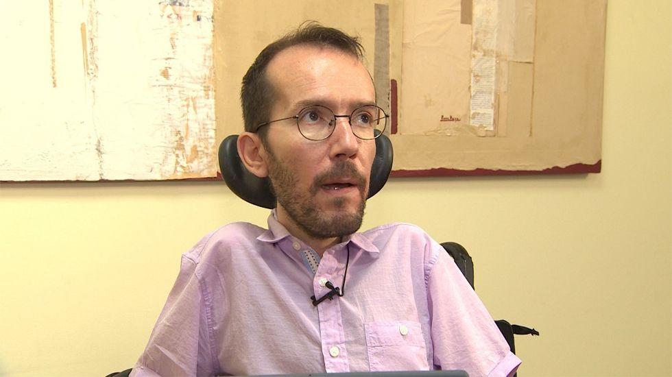 Pablo Echenique cree que al final Pedro Sánchez aceptará un bipartito