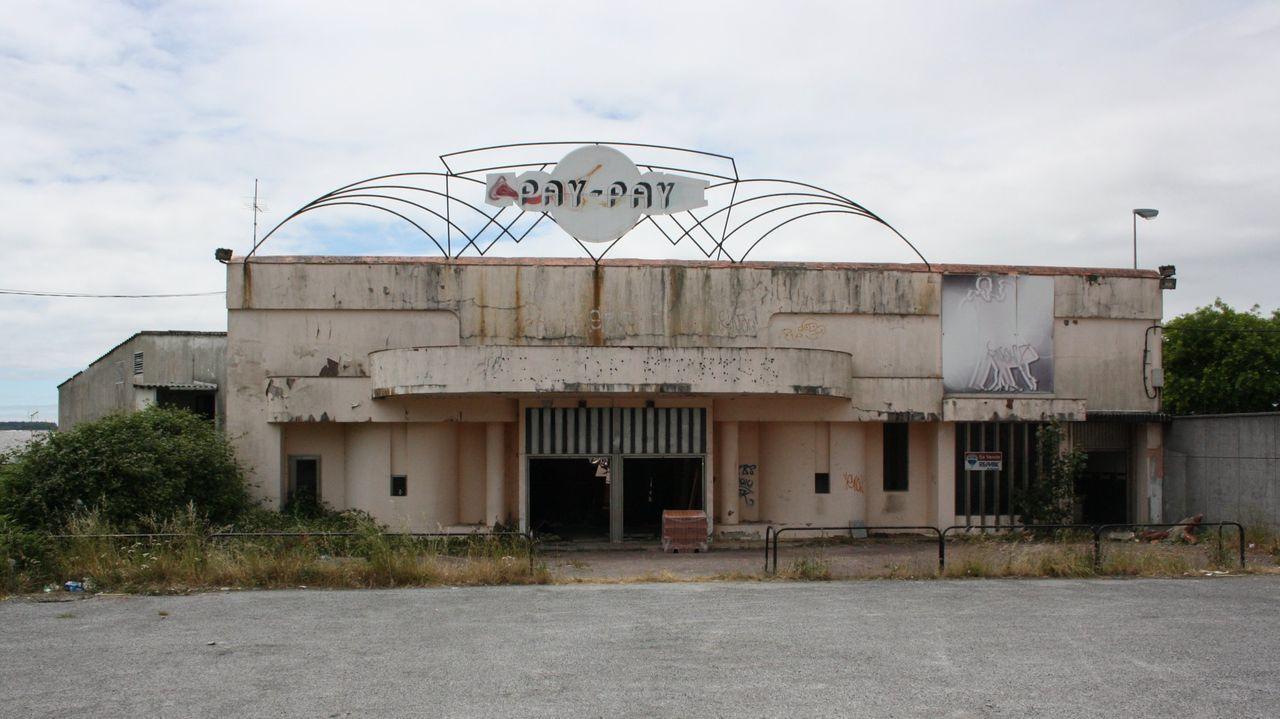Exterior de la sala de fiestas y discoteca Pay Pay