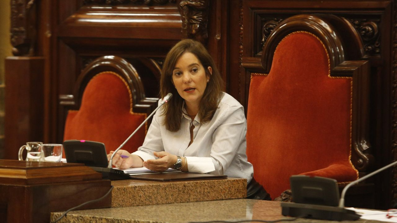 Galicia busca protagonismo en la Liga.Luis Rubiales, Irene Lozano y Javier Tebas