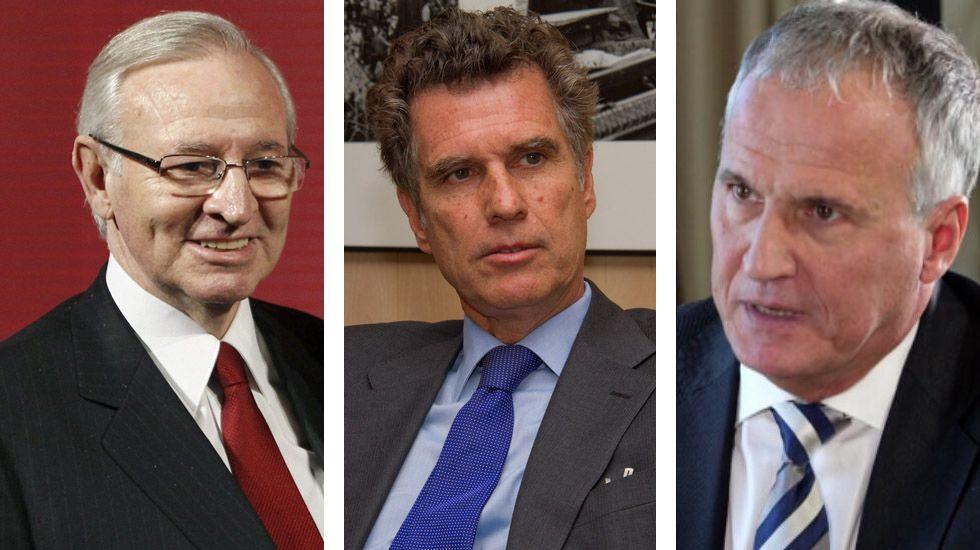 Miquel Valls, presidente de la Cámara de Barcelona; Jaume Guardiola, consejero del Sabadell, y Josep Bou, de Empresaris de Catalunya, son algunos de los que advierten contra las posibles cosnecuencias de la independencia