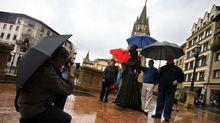 Turistas en Oviedo