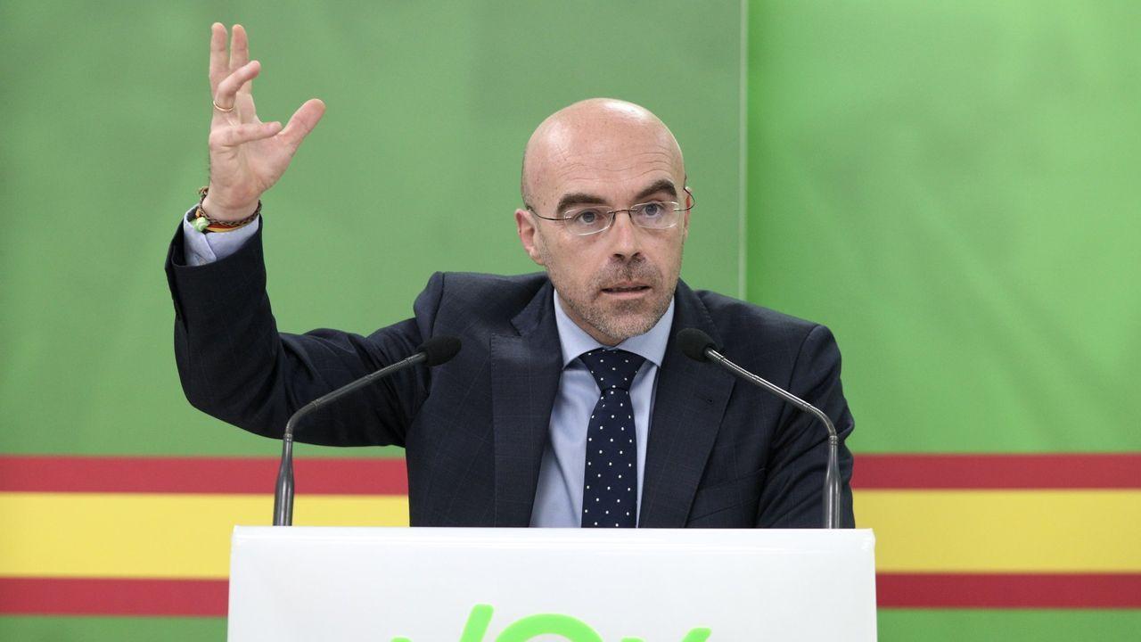 El eurodiputado de Vox, Jorge Buxadé