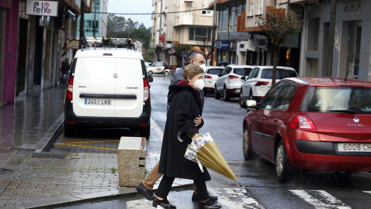 Imagen del municipio boirense, en el que la cifra de positivos no ha parado de bajar en una semana y se queda en 40 casos