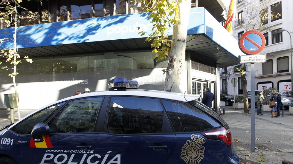 Los protagonistas de los premios Feroz.En el juicio se dirimirá si el PP pagó la reforma de su sede central en madrileña calle Génova con dinero de la caja B