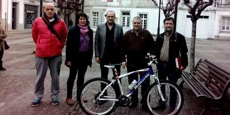 Presentación de la prueba clasificatoria, ayer en Mondoñedo.