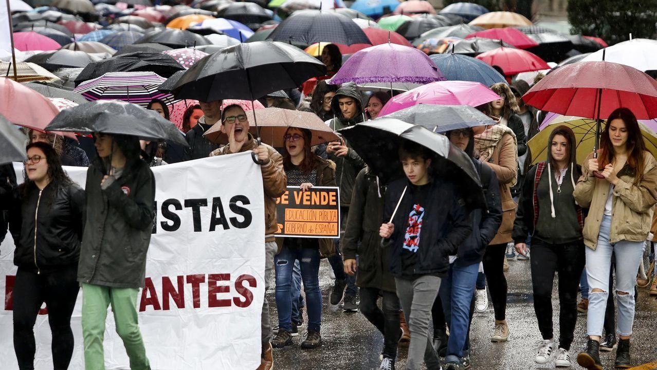 clase, aula, educación, Asturias, vuelta al cole.A voceira nacional do BNG, Ana Pontón