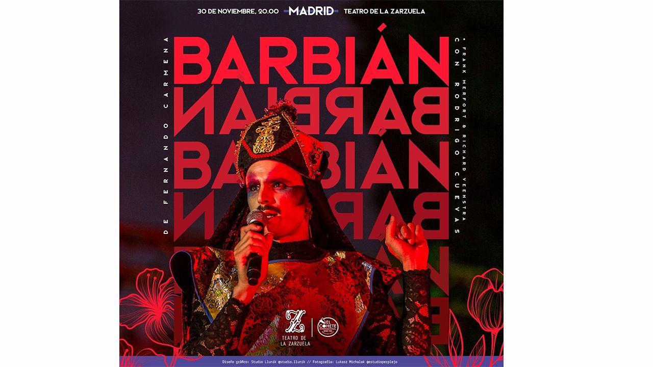 Rodrigo Cuevas presenta su nuevo espectáculo «Barbián»  en Madrid