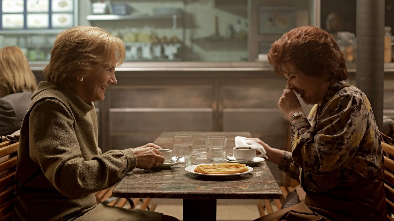 Viggo Mortensen, en el rodaje de «Falling»