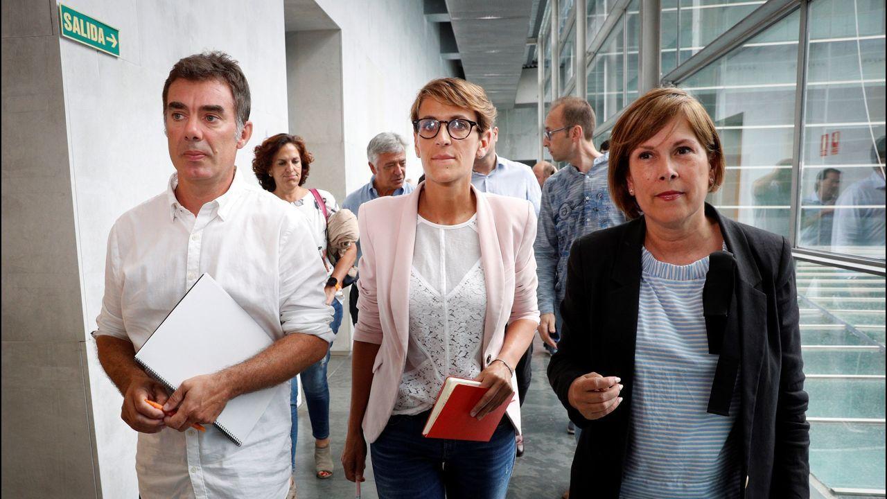 Más de un 89% de los socialistas navarros ratifican el acuerdo con Podemos y Geroa Bai.Pablo Casado y Albert Rivera, los líderes de PP y Ciudadanos