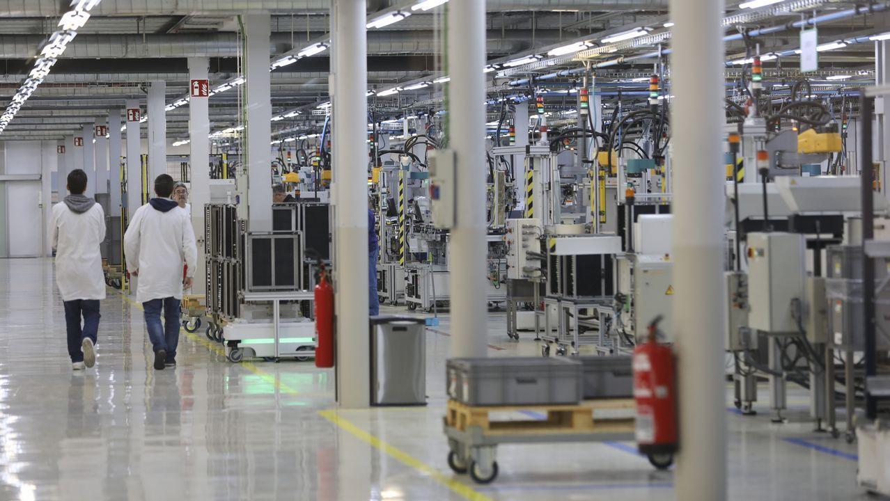 Así son las instalaciones de Televés, la única empresa gallega totalmente robotizada