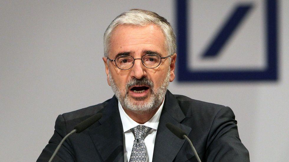 El presidente de la Junta del Deutsche Bank, Paul M. Achleitner
