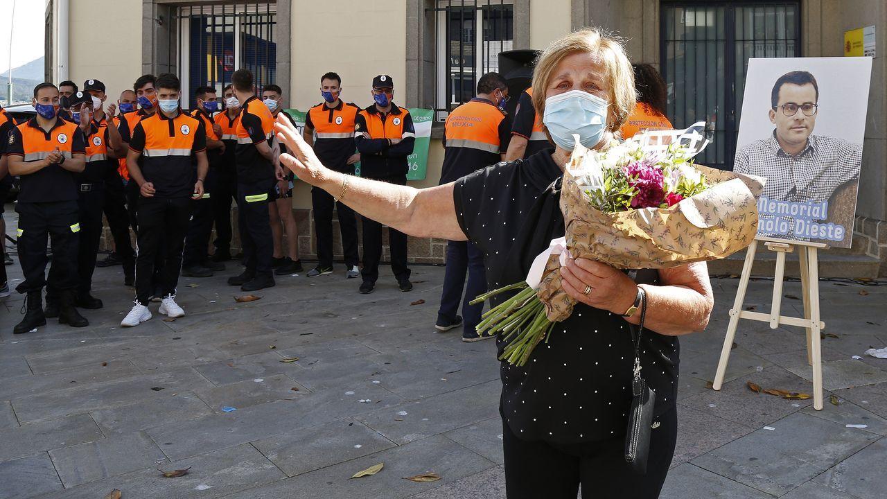 Las mejores imágenes del Memorial Manolo Dieste, carrera que recorrió las calles de Ribeira.La hostelería de A Pobra tuvo que volver a cerrar sus puertas el sábado al regresar al nivel máximo de restricciones por el covid