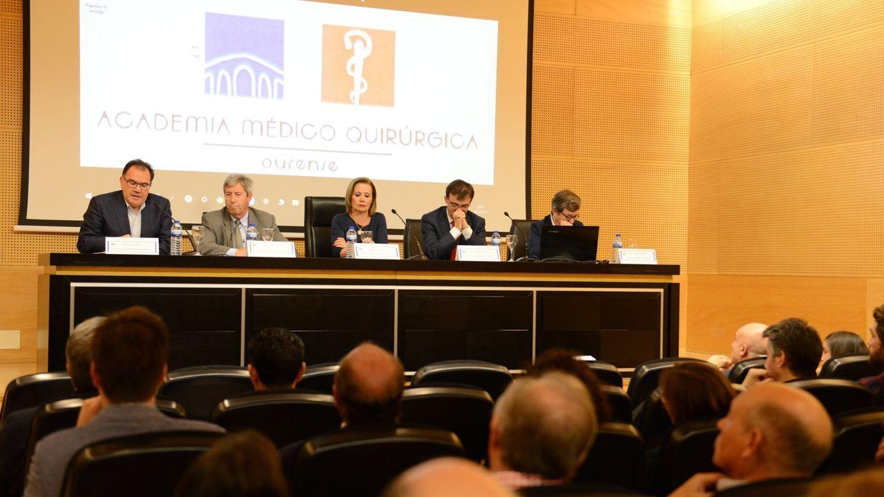 La academia de Ourense organiza numerosas actividades formativas. Imagen de archivo de uno de sus cursos en el Marcos Valcárcel