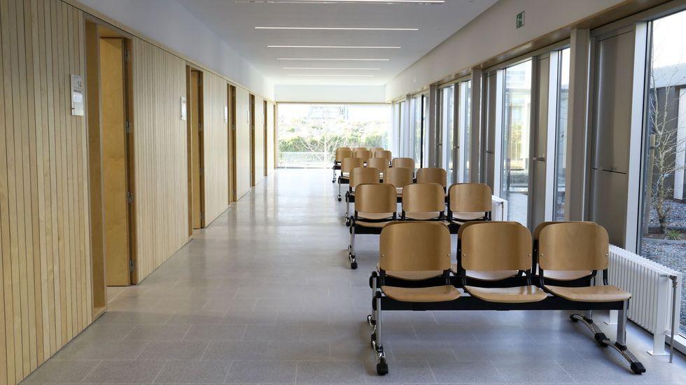 Centro de salud en Milladoiro
