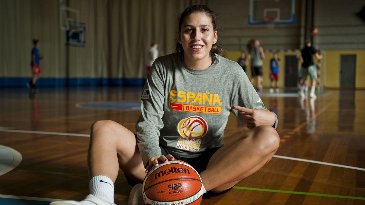 María Araújo: «La llamada a la selección era algo inesperado»