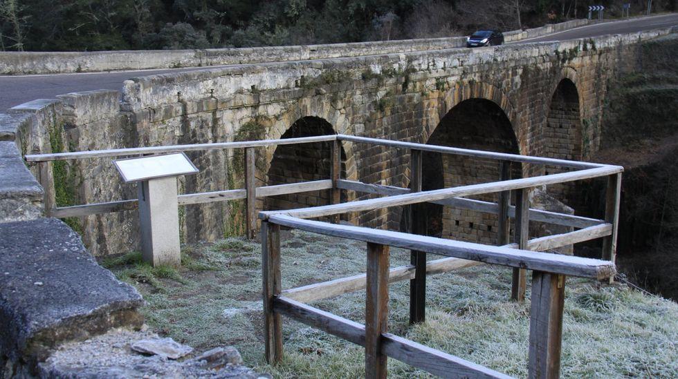 El puente Bibei es parte del trazado de la Vía Nova