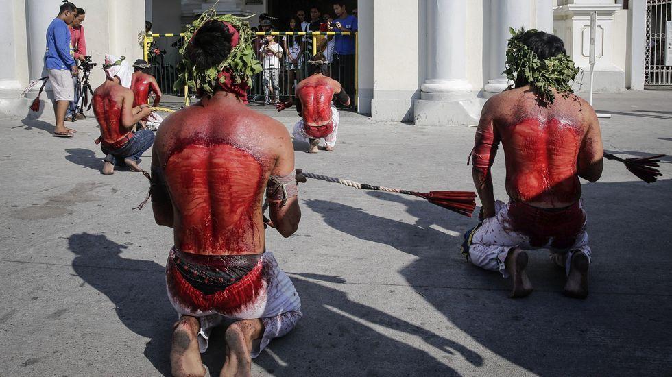 Sangrienta Semana Santa en Filipinas