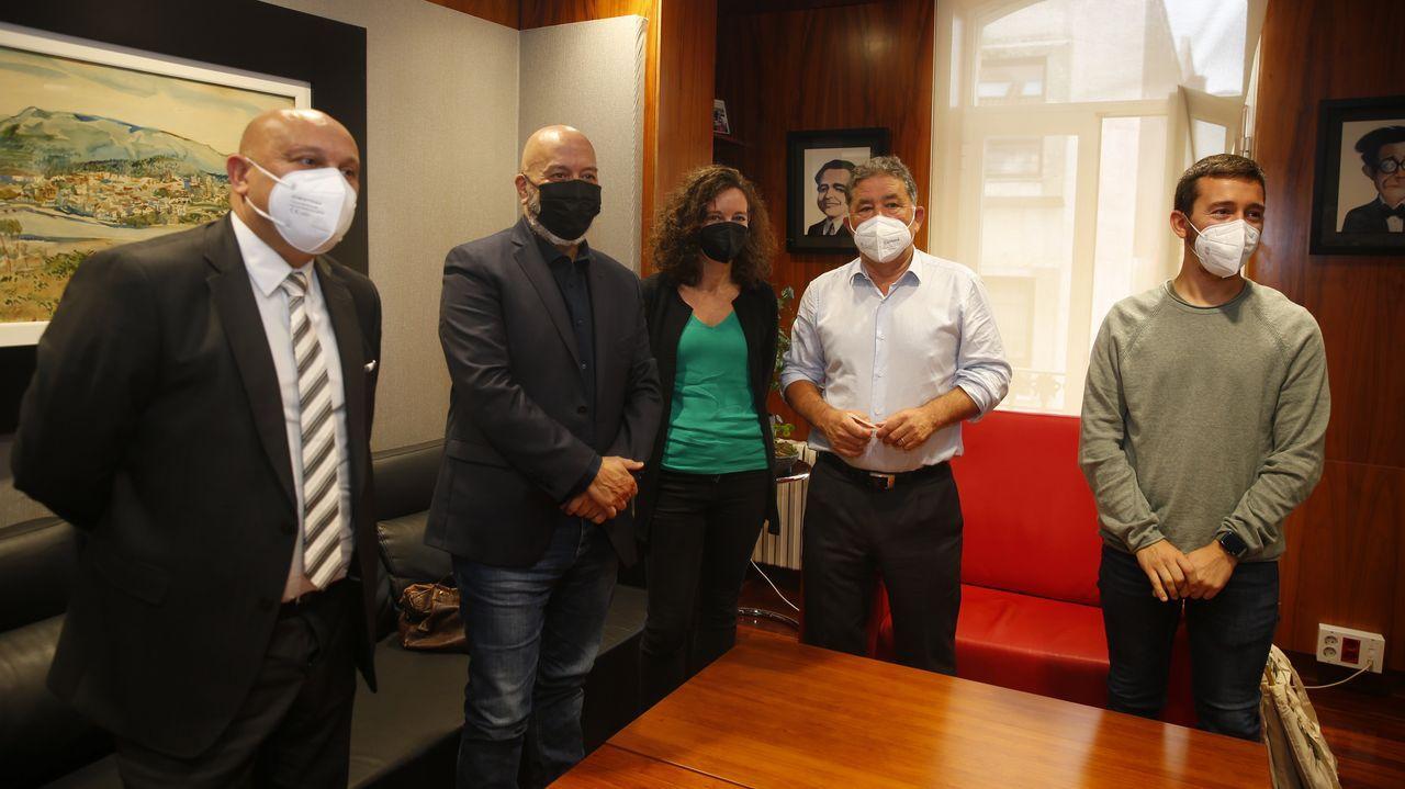 Comparecencia del nuevo acuerdo entre el Concello de Pontevedra y la Fundación Telefónica