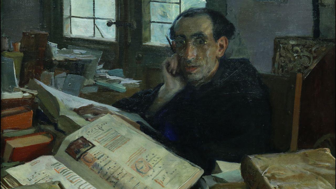 Detalle de «El padre Villalba», de Sotomayor