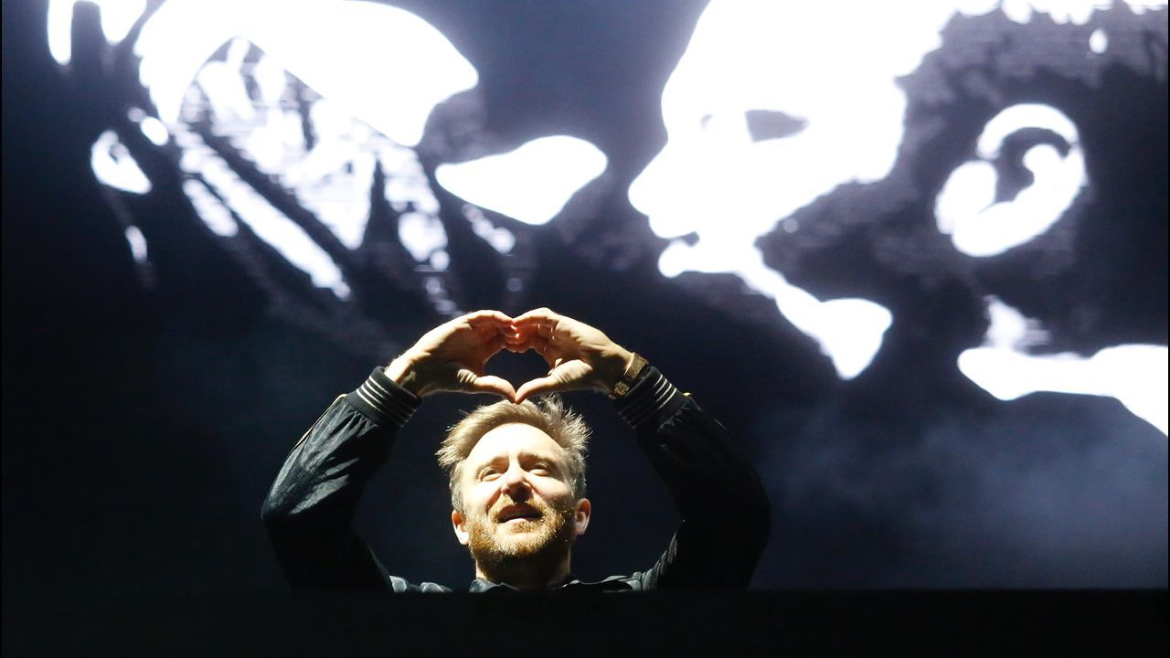 Concierto de David Guetta en el festivalO Son do Camiño