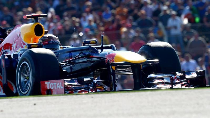 F1.Vettel conquistó su tercer campeonato seguido. <span lang= es-es >afp</span>