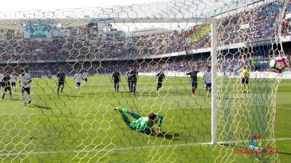 Michu Real Oviedo Nastic Carlos Tartiere.TENERIFE - REAL OVIEDO (1-0)
