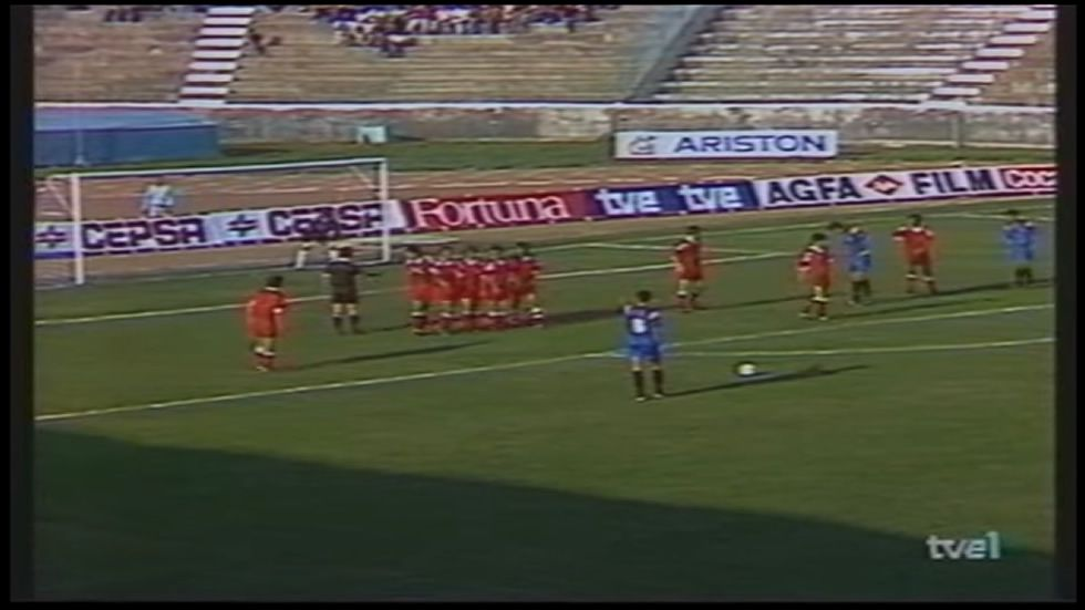 El último duelo de entre Albania y España en 1993